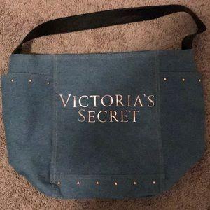 Victoria's Secret Blue Jean Tote
